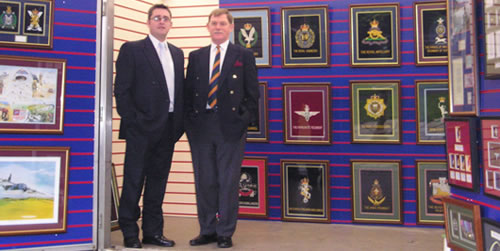 Ian Sixsmith and Graham Prince MBE, Victoria Prints